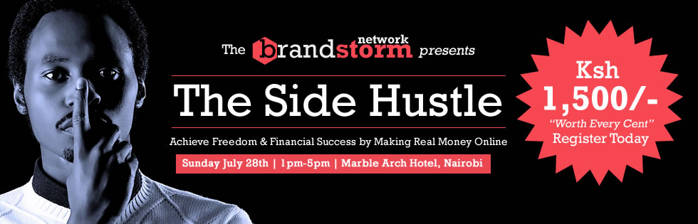 The Side Hustle – A Must-Go Online Marketing Seminar in Nairobi