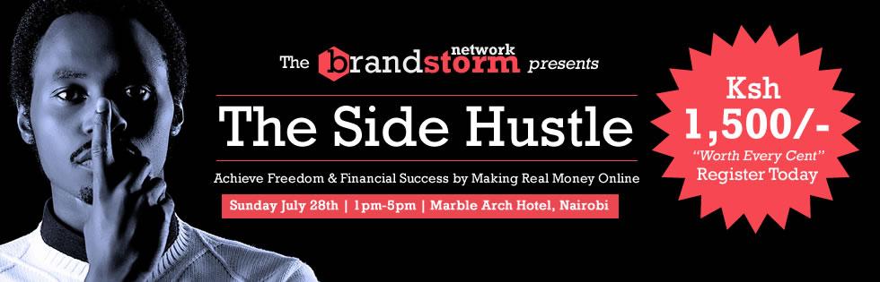 The Side Hustle – A Must-Go Online Marketing Seminar in Nairobi