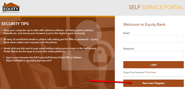Equity Bank Self Service